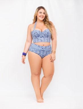 Bikini Blue Spirit para mujeres curvy - tallas grandes